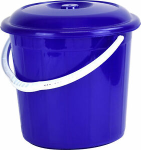 20L-Litre-Sturdy-Bucket-with-Lid-for-Rubbish-Waste-Storage