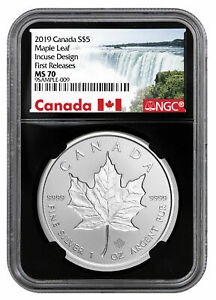 2019-Canada-1-oz-Silver-Maple-Leaf-Incuse-5-NGC-MS70-FR-Black-Core-SKU57188