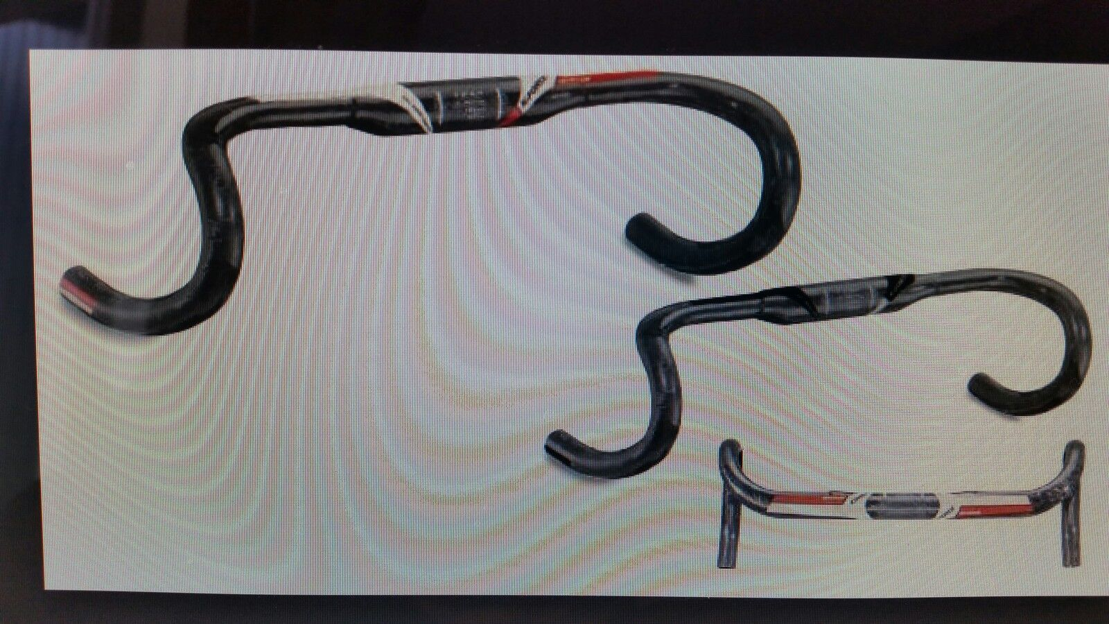 K-force new ergo handlebar manubrio 40 mod2014 originale color red black bianc