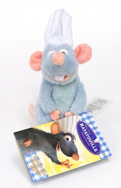Disney Parks Exclusive Ratatouille Remy Magnet Shoulder Plush New with Tag