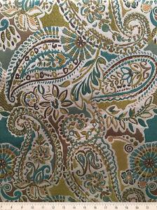 Fiesta Drapery Upholstery Fabric Medium Weight Textured Jacquard Leaves Vines