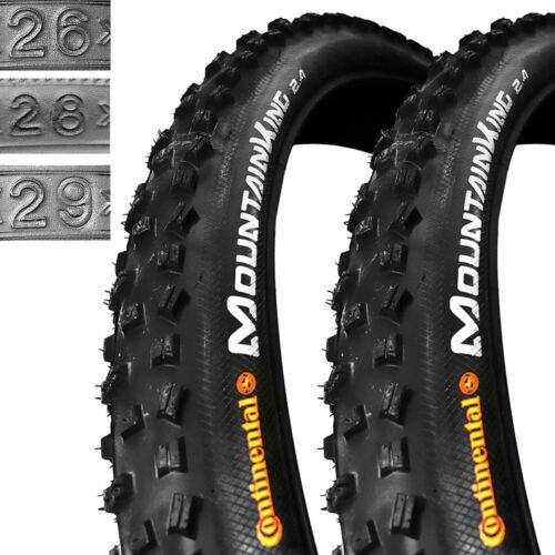 "2 x Continental MountainKingII 26/""-28/"" MTB DH CROSS Fahrrad Reifen 1 Paar"
