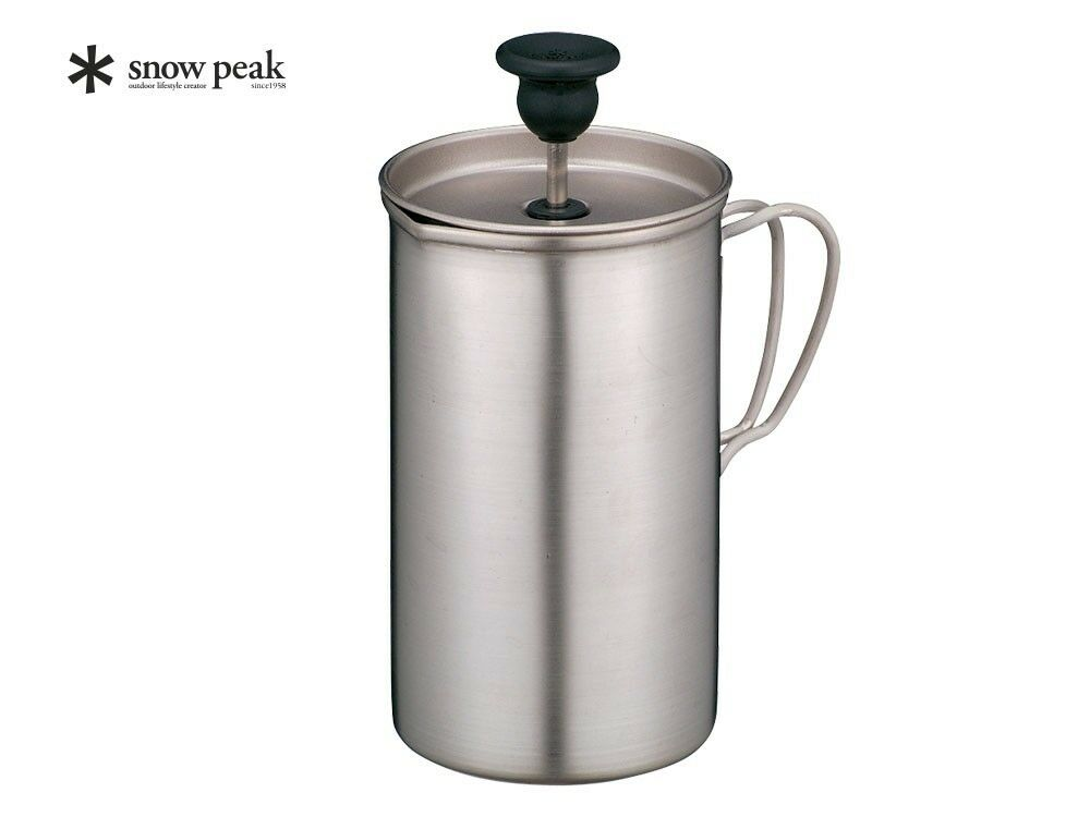 Snow peak Titanium cafe latte set French press for 3cups CS-111 from Japan