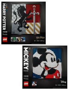 LEGO-ART-31201-31202-Harry-Potter-Hogwarts-Wappen-amp-Mickey-Mouse-N2-21