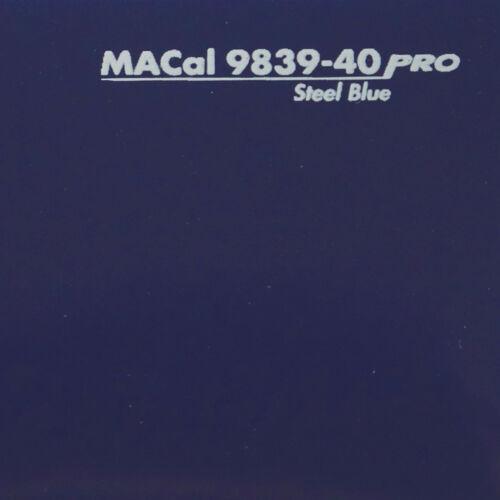 traceur film bleu acier brillant même film adhésif 61,5 CM 13,95 €//m 1 M