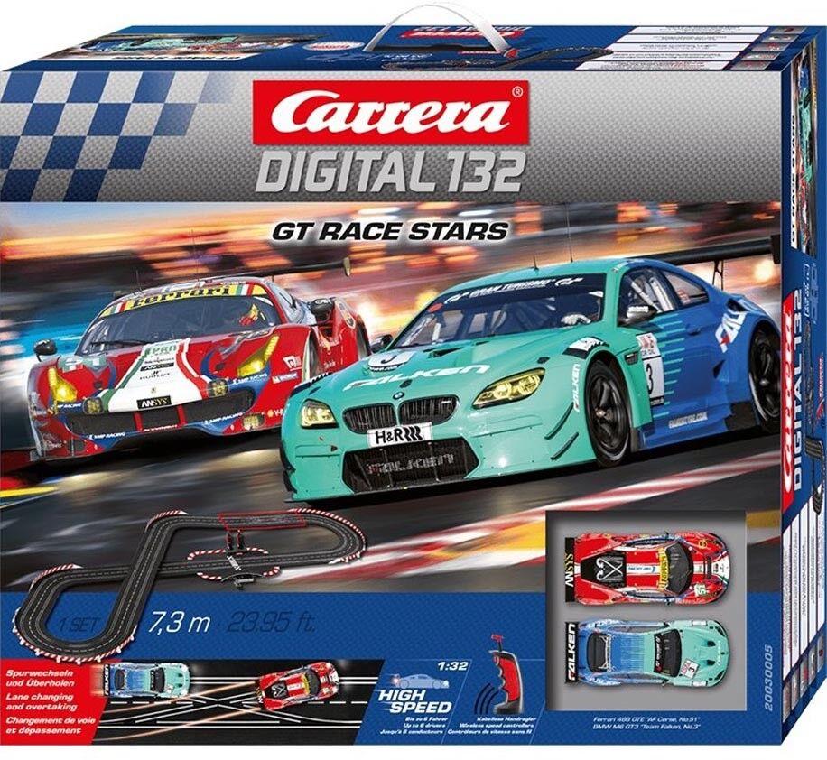 Carrera digital  Gt Carrera estrellas ranura de coche de carreras Carrera Set 5 Nuevo