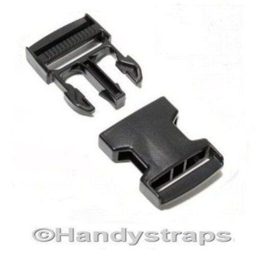Lanzamiento lateral hebillas clip 100 X 25mm para hebillas de liberación rápida de plástico de las correas