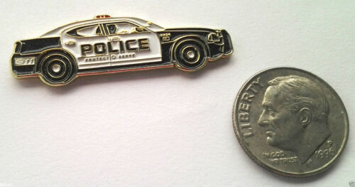 POLICE CAR Law Enforcement Hat Pin P61628 EE