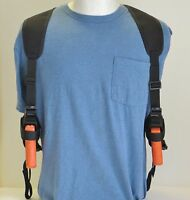 Two Gun Shoulder Holster For 4 1/2 - 5 Barrel Large Autos