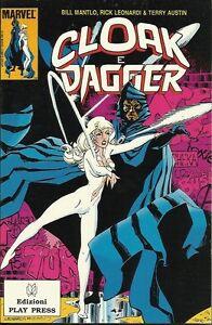 CLOAK-E-DAGGER-di-Bill-Mantlo-e-Rick-Leonardi-Play-Press-1989