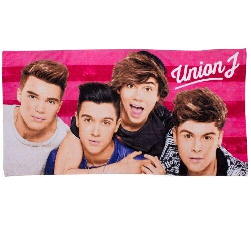 Union J /'Boyz/' Imprimé Serviette De Plage Tout Neuf Cadeau