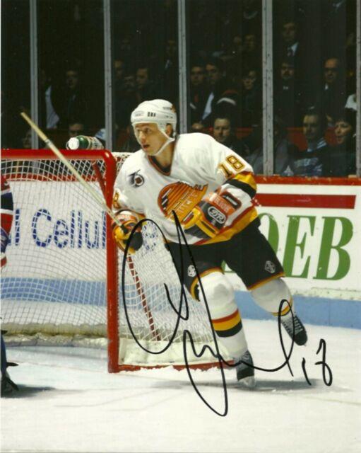 Vancouver Canucks Igor Larionov Signed Autographed 8x10 Photo COA