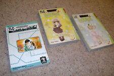 Manga Lot Kamichama Karin Volumes 3 & 7, Train_Man Densha Otoko 3 Ex-Library
