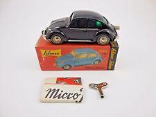 Schuco Micro Racer 1046 VW Volkswagen Bug Black Wind Up Car New in Box