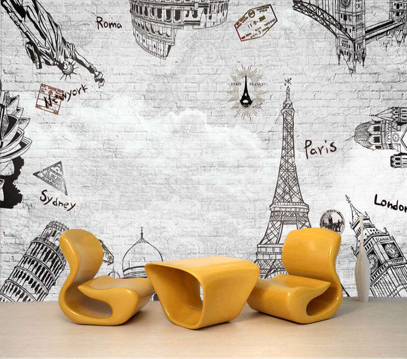 Different Tower 3D Full Wall Mural Photo Wallpaper Printing Home Kids Decoration