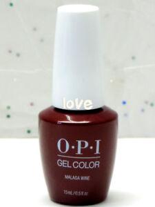 Detalles De Opi Gelcolor Nuevo Esmalte De Uñas De Gel Secado Rápido L87 Malaga Wine