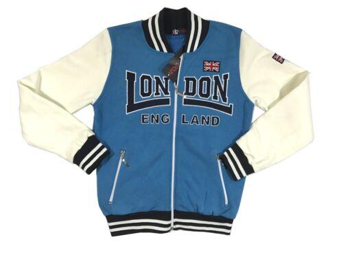 Kids London England Embroidered Winter Hoodie Sweatshirt Pullover