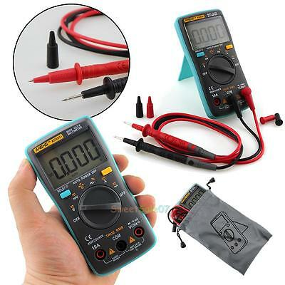 RM101 6000 Counts AC/DC Amp Volt Ohm Temp Diode Tester Digital Meters Portable