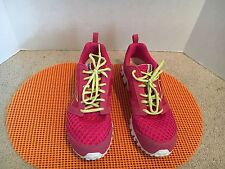 Ladies Pink Reebok Tennis Shoes 8 1/2