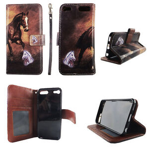 Flip-Wallet-Case-Tan-Horse-for-ipod-touch-5-6-Gen-Cash-id-Slot-Stand-Cover