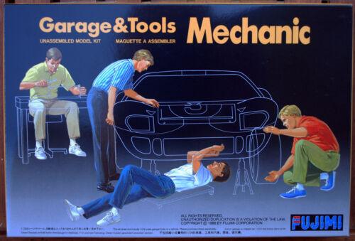 Schrauber 1:24 Fujimi 11003 114903 Garage /& Tools Mechanic Mechaniker KFZ Auto
