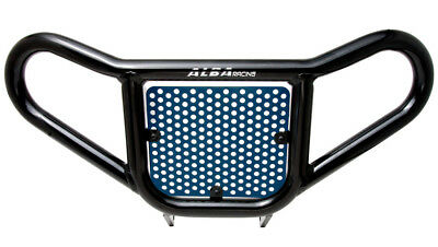 Raptor  350 YFM   Blue and Black Screen  Front Bumper   Alba Racing   209 R2 BL