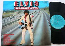 ELVIS PRESLEY SEPARATE WAYS RCA LP