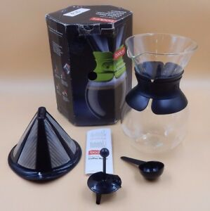 Image Is Loading Bodum Model 11571 Pour Over Gl Coffee Maker