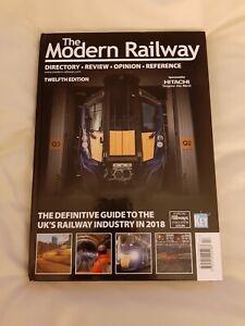 The Modern Railway: 2018 - Hardback