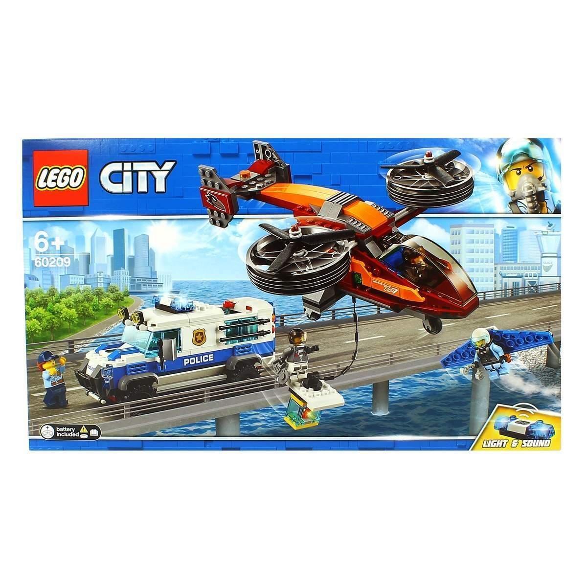 Lego City  Policía Aérea  Robo del Diahommete  meilleure vente