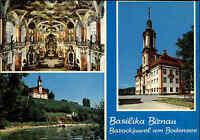 Kirchen Bauwerke Postkarte Basilika Kirche Birnau bei Uhldingen-Mühlhofen color