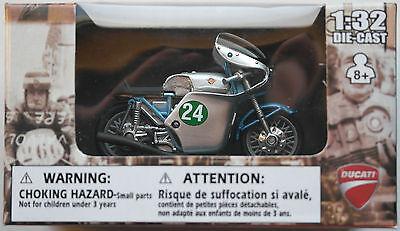NewRay - Ducati 250 Bicilindrico 1960 1:32 / Spur 1 Neu/OVP Motorrad-Modell