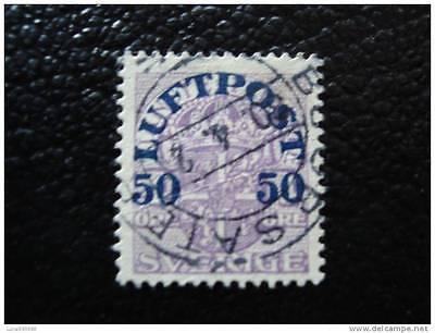 Yvert Und Tellier Luft Nr.3 Gestempelt Suede Briefmarke Briefmarke Sweden Unterscheidungskraft FüR Seine Traditionellen Eigenschaften