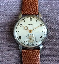 Smiths Deluxe Watch 1950 A203 Serviced