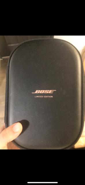 Bose Case for QuietComfort 35 Headphones qc 35 authentic NO FAKES ROSE GOLD