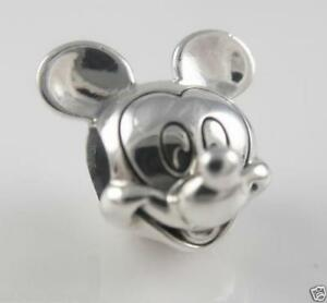 6b3ecb6d0 Image is loading NEW-Authentic-Authentic-Pandora-Charm-Disney-MICKEY-Face-