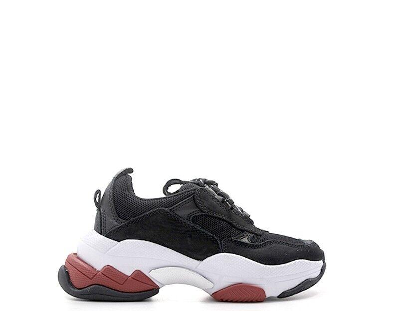 chaussures JEFFREY CAMPBELL femmes baskets Trendy  noir Pelle naturale,Tessuto 40JC1