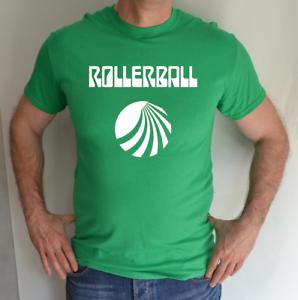 ROLLERBALL-IRISH-GREEN-MADRID-SCI-FI-MOVIE-LOGO-FANCY-DRESS-FUN-T-SHIRT
