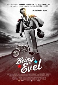- Evel Knievel Ken Berg Ray Gunn Seth Enslow Being Evel Movie Poster 24x36