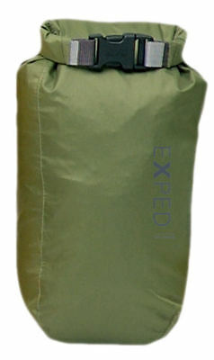 Instancabile Exped Impermeabile 3 Litri Fold Top Impermeabile Drybag In Oliva Camping & All'aperto- Materiale Selezionato