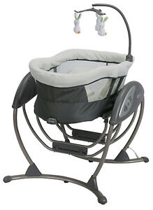 Graco-Baby-DreamGlider-Gliding-Swing-Sleeper-Glider-Rascal-NEW