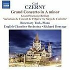 """Carl Czerny - : Grand Concerto in A minor; Grand Nocturne Brillant; Variations de Concert de l'Opéra """"L (2016)"""