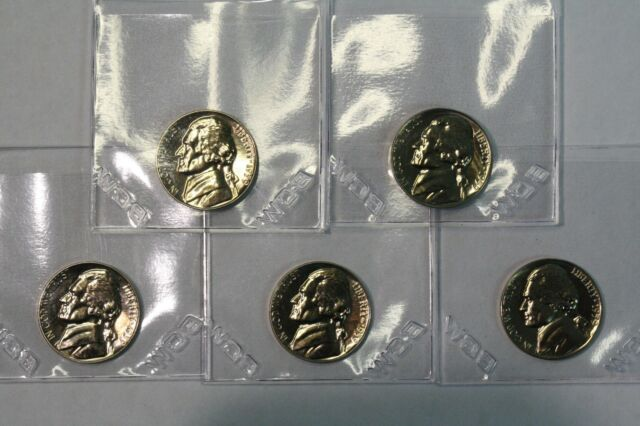 1959 5C Proof Jefferson Nickel  **Free Shipping**