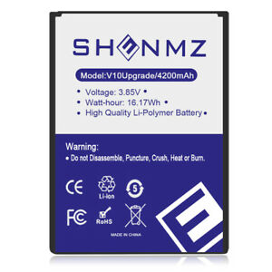 save off 836fd 36602 TQTHL 4200mAh Extended Slim Battery For LG V10 VS990 H900 H901 F600 ...