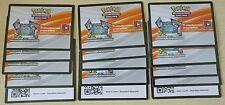 Lotto carte Pokemon ONLINE 15x SOLE E LUNA GUARDIANI NASCENTI CODES CODICI PTCGO