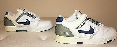 Details zu Nike Air Force 2 Low White Blue Silver Men's Shoes Size: 11.5 (no. 305602141)