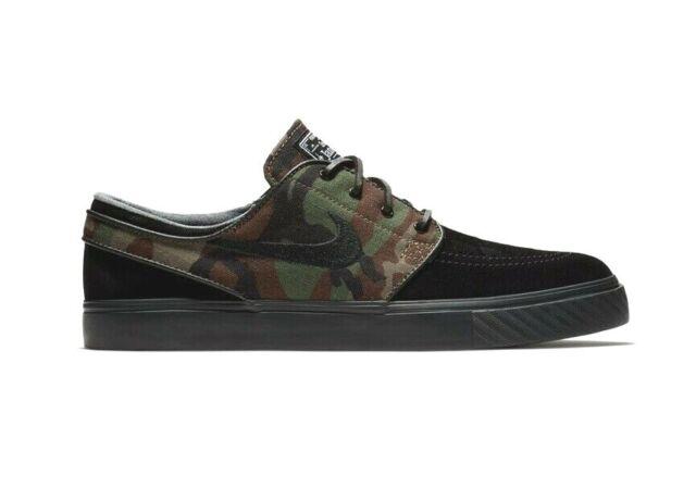 Adepto Pólvora compilar  Nike Men's Zoom Stefan Janoski Prem TXT Black Textile Skate Shoes 11.5 Men  US for sale online | eBay