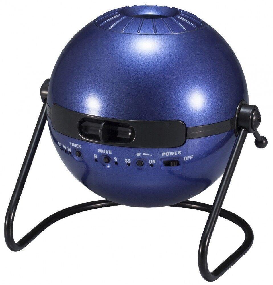 Sega Homestar Classic Home Planetario Metallico Blu Navy Giappone Nuovo Con