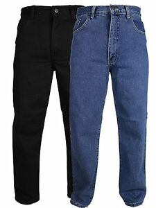 Mens-36-inch-inside-leg-Extra-Long-Leg-Jeans-Regular-Fit-Pants-Tall-Big-Size