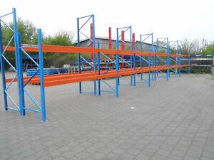 240 Palettenplätze Fabr. STOW Rahmen H. 2.500 mm Palettenregal, Schwerlastregal